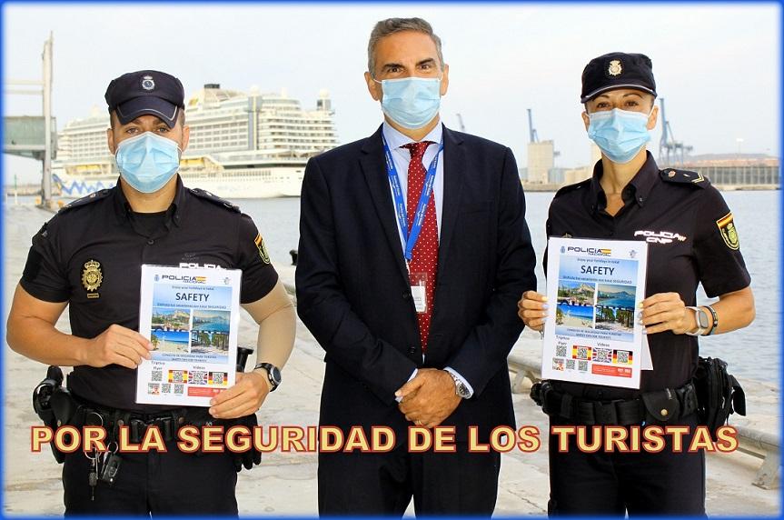 Consejos de la Policía Nacional para practicar un turismo Seguro en nuestras playas.