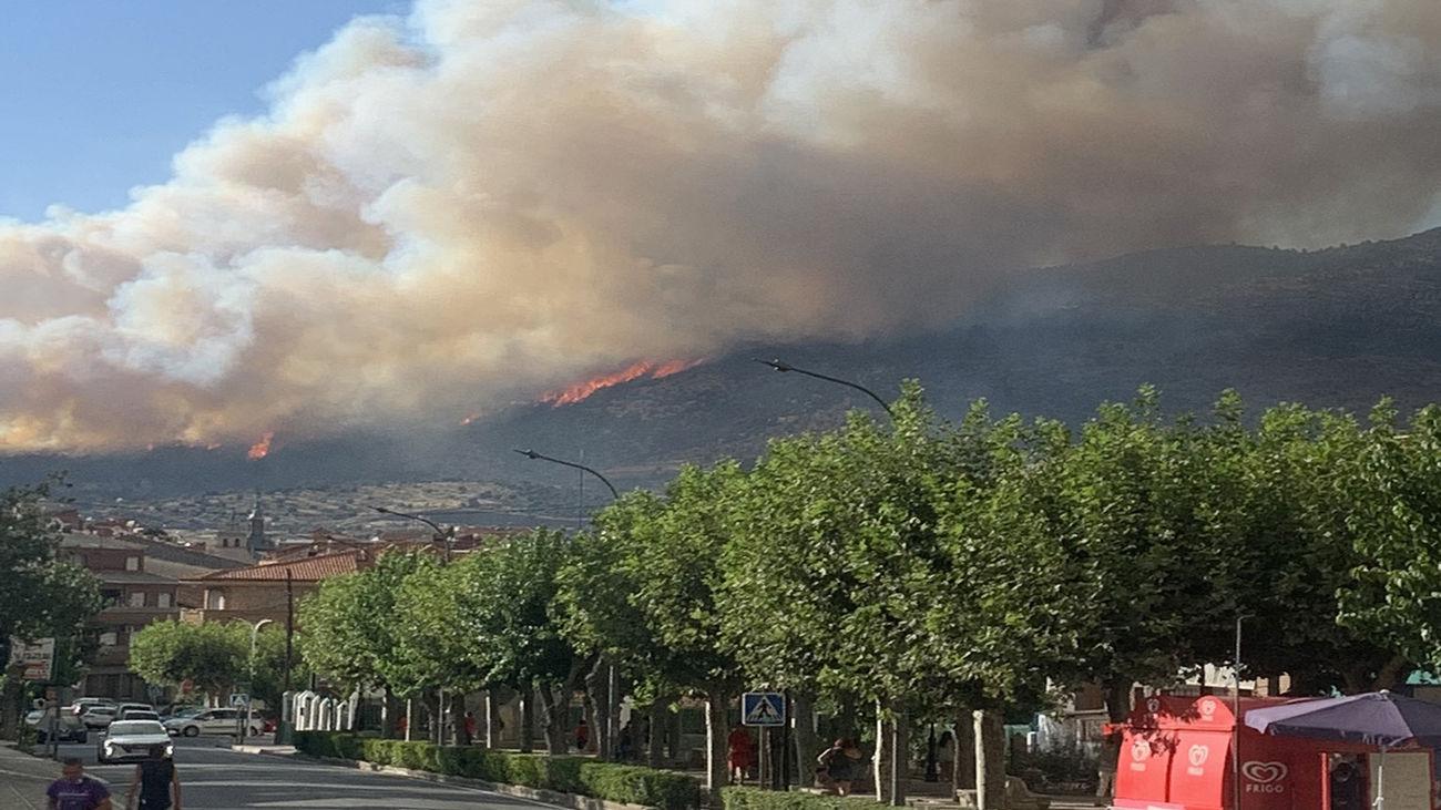 Los incendios forestales en la Comunidad de Madrid.