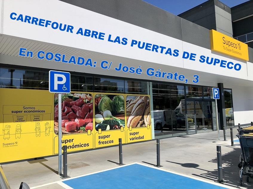 CARREFOUR INAUGURA UN SUPECO EN COSLADA. Este nuevo establecimiento es el octavo en la Comunidad de Madrid.