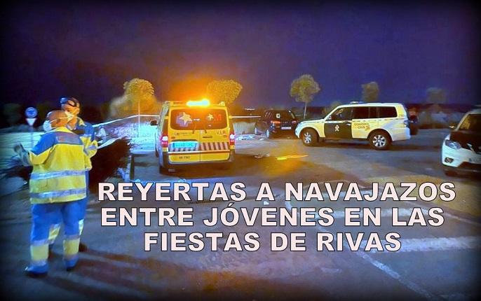 Detenido un joven dominicano por la reyerta a navajazos en Rivas que ha dejado ocho heridos, estos de origen magrebí.