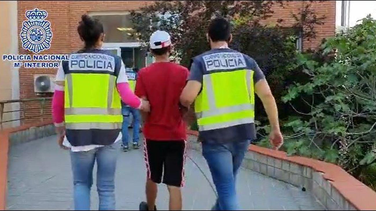 Operación de la Policía Nacional contra las bandas latinas en Torrejón, San Fernando de Henares y Madrid capital.