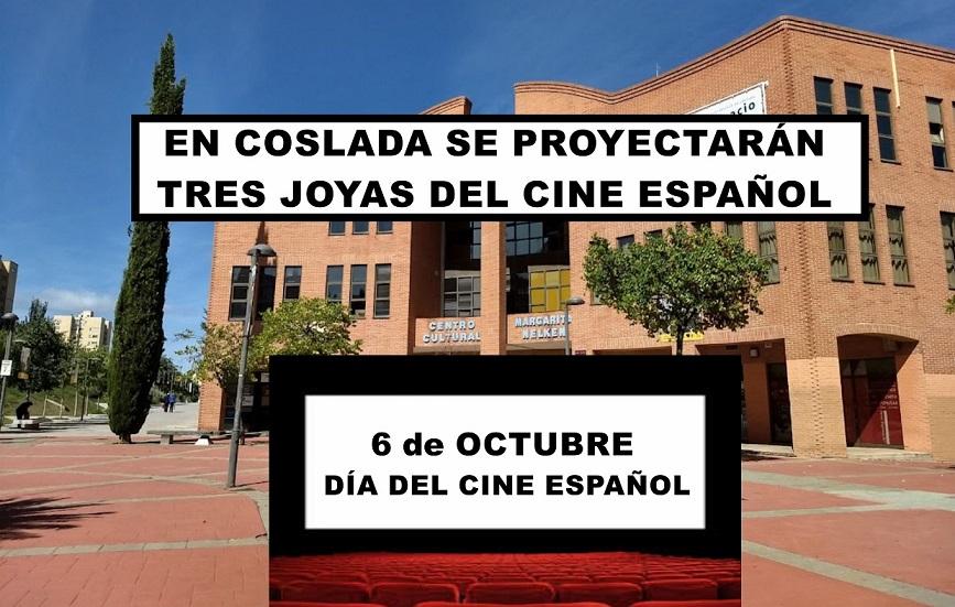 Se proyectarán tres joyas del cine  español en el centro Margarita Nelken de Coslada.