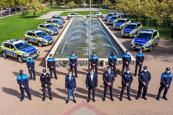 La Policía Local de Torrejón de Ardoz cuenta con 14 nuevos vehículos con una completa dotación para su trabajo policial.